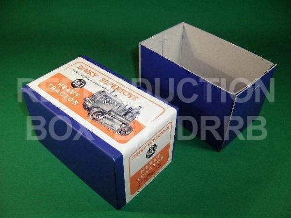 Dinky #563 (963) Heavy Tractor - Reproduction Box ( Orange label )